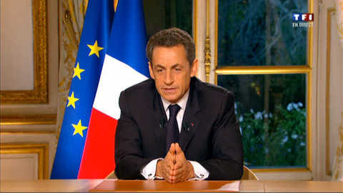 Sarkozy s'explique sur la crise : Partie 4