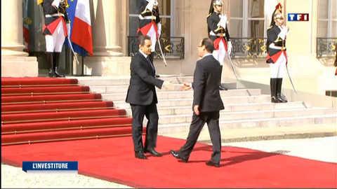 De Sarkozy à Hollande, récit d'une passation sobre