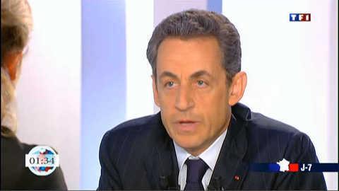 Sarkozy ironise sur le financement de sa campagne de 2007