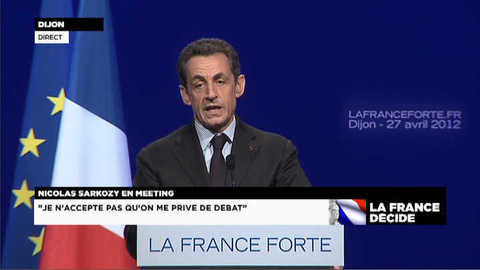 "Sarkozy : ""Quand on accueille trop, on accueille mal"""