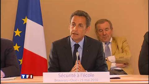 """Sarkozy sur les violences scolaires : """"il faut mettre un terme à ce cancer"""""""