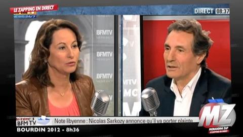 Ségolène Royal raconte l'arrivée de DSK