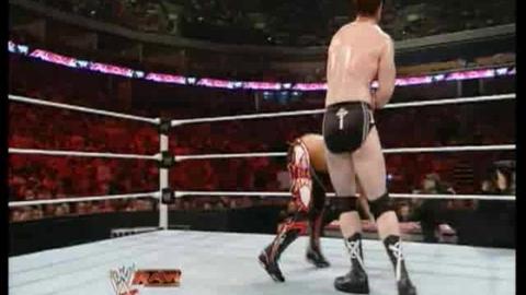 Sheamus VS Evan Bourne
