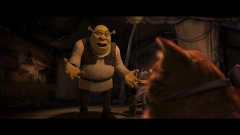 """Shrek 4 - Extrait 1 : """"Le Chat Potelé"""""""