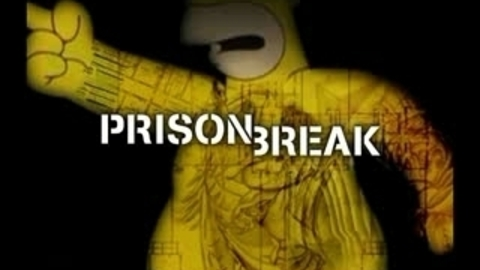 Simpsons Prison Break