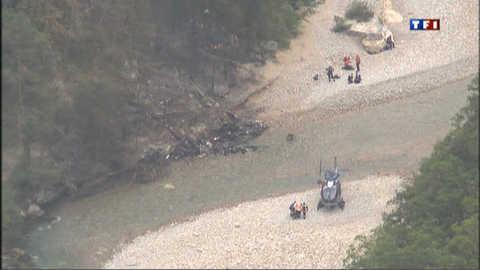 Six mort dans le crash d'un hélicoptère dans le Verdon