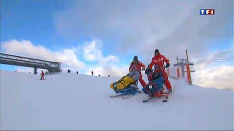 Le ski pour les handicapés, c'est possible