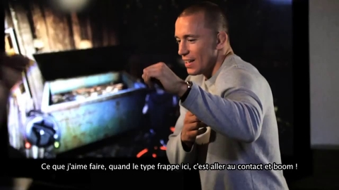 Sleeping Dogs - Georges St Pierre at United Front Games Documentary - FR - PS3 Xbox360.mp4