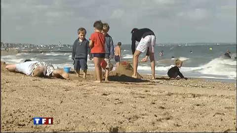 Soleil et bains de mer font leur retour sur la Normandie