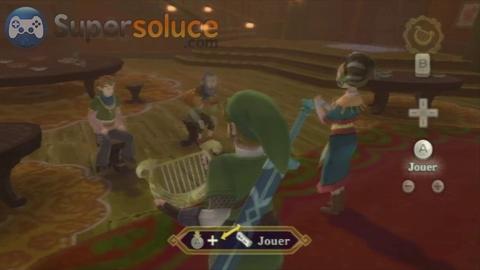 Soluce Zelda Skyward Sword l'île citrouille Job 3