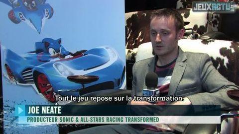 Sonic All Stars Racing 2 : Joe Neate (Interview Exclu) !!!