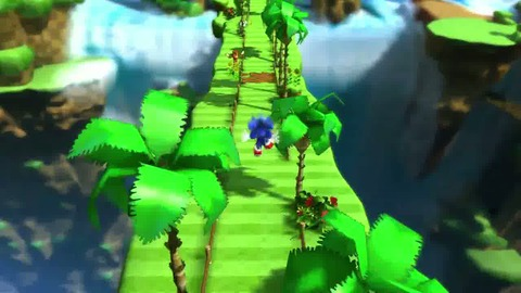 Sonic Generations - Gameplay Trailer - PS3 Xbox360