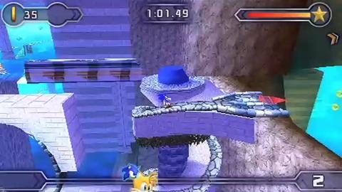 Sonic Rivals 2 - Trailer 3  - PSP
