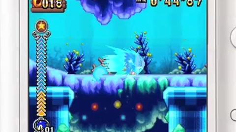 Sonic Rush Adventure - Trailer 1 - NDS