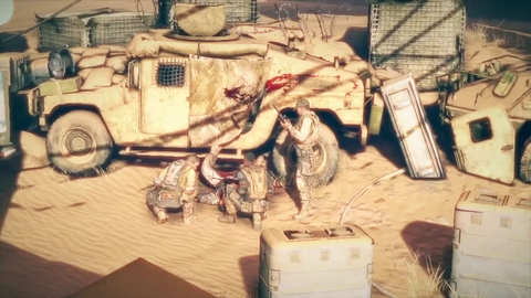 Spec Ops The Line - Demo Showroom 2/2 - PS3 Xbox360