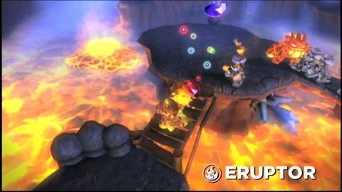 Spyro Skylanders - Eruptor Gameplay trailer
