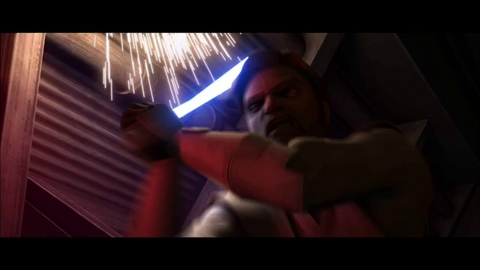 "Star Wars: The Clone Wars ""Dark Maul contre Obi-Wan Kenobi"""