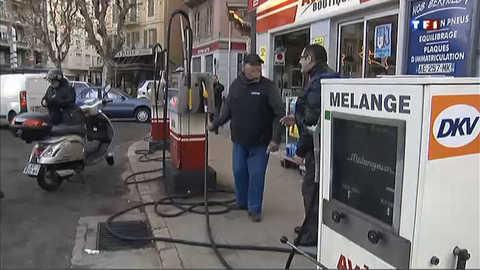 Une station-service de Nice sauvée grâce à la mobilisation des clients