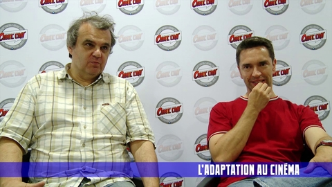 Stephen DESBERG et Enrico MARINI en interview pour Comic Con' Paris