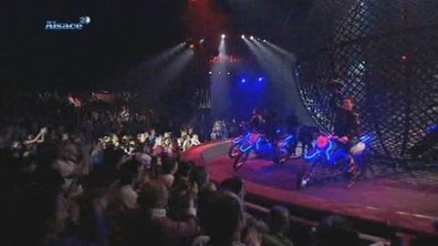 Strasbourg: l'autre monde du cirque Gruss