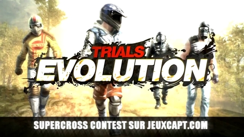 Supercross Contest - Trials évolution