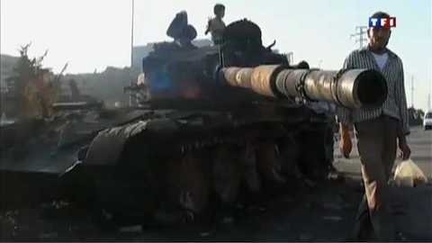 Syrie : l'armée entre en action à Alep