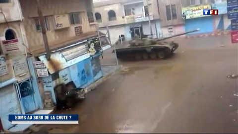 Syrie : l'armée lance une offensive terrestre à Homs