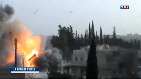 Syrie : l'armée reprend le contrôle d'Idlib
