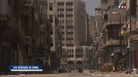 Syrie : les assiégés de Homs