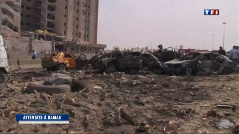 Syrie : un double attentat à Damas fait 55 mort et 372 blessés