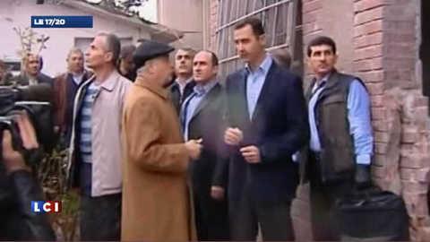 Syrie: le président Assad dans le quartier de Homs pilonné par l'armée