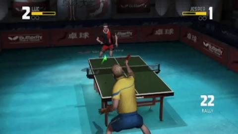 Table Tennis - Séquences de jeu 3 - Wii