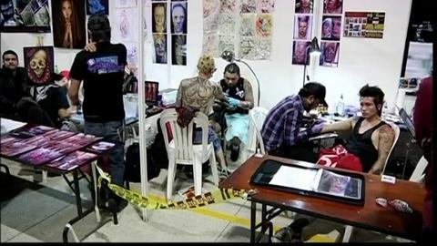 Les tatouages à l'honneur en Colombie