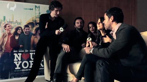 """Teaser Interviews de l'équipe du film """"Nous York"""""""