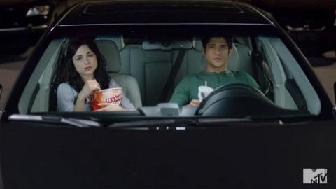 Teen Wolf - Tyler Posey et Crystal Reed font la pub du Toyota Entune