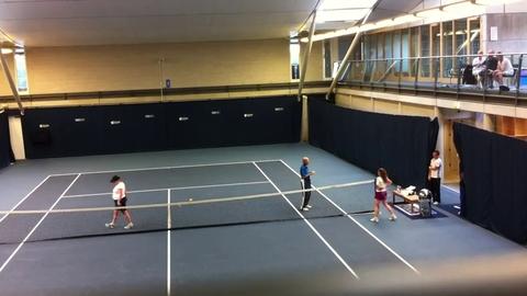 Le tennis peut aussi être pratiqué par les aveugles