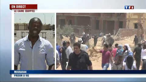 Tension au Ciare après la condamnation de Moubarak