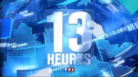 TF1 - Le journal de 13h du 14 février 2011