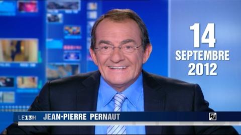 TF1 - Le journal de 13h du 14 septembre 2012