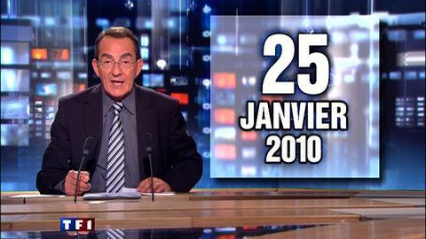 TF1 - Le journal de 13h du 25 janvier 2010