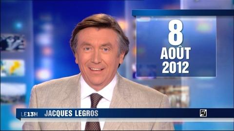 TF1 - Le journal de 13h du 8 août 2012