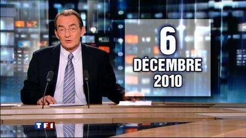 TF1 - Le journal de 13h du 6 décembre 2010