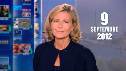 TF1 - Le journal de 13h du 9 septembre 2012