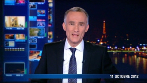 TF1 - Le journal de 20h du 11 octobre 2012