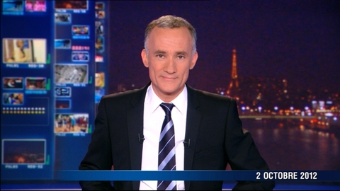 TF1 - Le journal de 20h du 2 octobre 2012