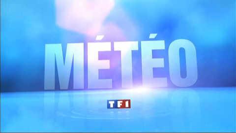 TF1 - La météo de 13h du 9 août 2012