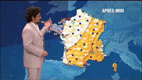 TF1 - Les prévisions météo du 30 juillet 2009