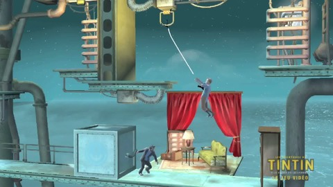 The Adventures of Tintin  The Secret of the Unicorn The Game - Gamescom 2011 Trailer VF - PS3 Xbox360 3DS Wii.mp4