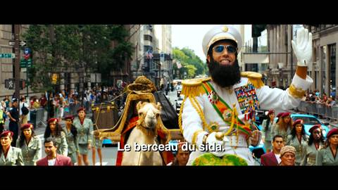 The Dictator - Bande annonce