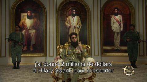 The Dictator – Interdit aux Oscars – La réaction VOST